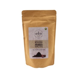 CO FEE CO Organic Roasted Arabica Coffee Powder 150g