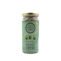 CO FEE CO Organic Green Coffee Beans 150g